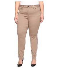 Nydj Plus Size Alina Leggings In Super Sculpting Denim In Vintage Taupe Vintage Taupe Women's Jeans