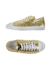 Gienchi Footwear Low Tops And Trainers Men Gold