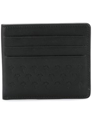 Tomas Maier Palm Tress Embossed Wallet Black