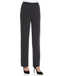 Caroline Rose Flat Wool Knit Pants Women's Graphite