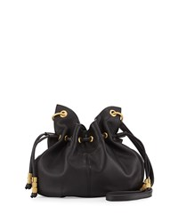 Patchin Leather Bucket Bag Noir Sjp By Sarah Jessica Parker