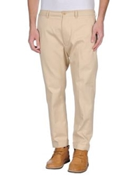 People Casual Pants Sand