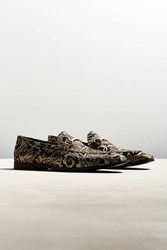 Urban Outfitters Uo Brocade Loafer Black