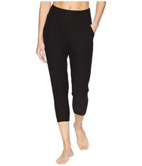 Jockey Active Insider Capris Deep Black Casual Pants