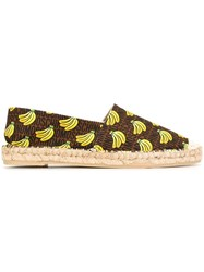 Moschino 'Super Moschino' Banana Espadrilles Multicolour