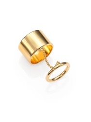 Elizabeth And James Mies Knuckle Ring Gold