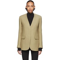The Row Beige Murray Jacket