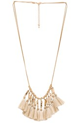8 Other Reasons Chelsea Bib Necklace Metallic Gold