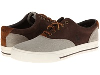 Polo Ralph Lauren Vaughn Saddle Hudson Tan Twill Mohican Brown Sport Suede Men's Lace Up Casual Shoes