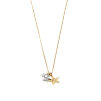 J.Crew Star Charm Pendant Antique Gold