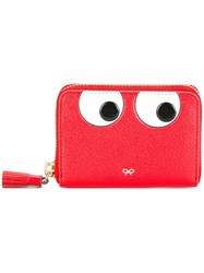Anya Hindmarch Zip Around 'Eyes' Wallet Red