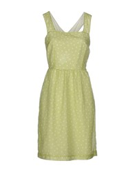 Ekle' Dresses Short Dresses Women Light Green