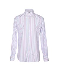 Mazzarelli Shirts Sky Blue