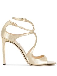 Jimmy Choo Lace Strappy Sandals 60