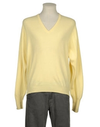 Peter Scott V Necks Light Yellow