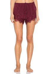 Keepsake Take You Silk Short Wine