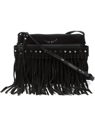 Zadig And Voltaire 'Stella Gipsy' Crossbody Bag Black