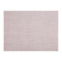 Chilewich Mini Basketweave Rectangle Placemat Blush