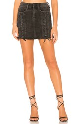 Blank Nyc Lace Up Front Mini Mystique