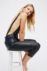 Free People Womens Lilah Leather One Piece
