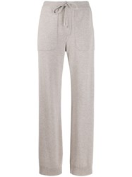 Lorena Antoniazzi Side Striped Track Pants Neutrals
