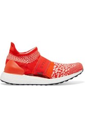 Adidas By Stella Mccartney Ultraboost X 3D Leopard Print Primeknit Sneakers Red