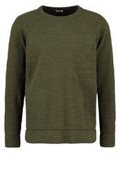 Filippa K Jumper Air Force Melange Khaki