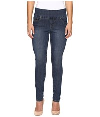 Jag Jeans Petite Nora Pull On Skinny Comfort Denim In Anchor Blue Anchor Blue Women's