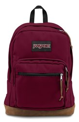 Jansport Men's 'Right Pack' Backpack Red Russet Red