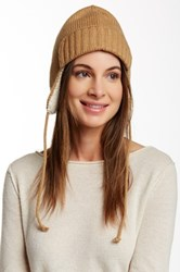 J.Crew Factory Trapper Wool Blend Hat Brown
