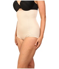Miraclesuit Full Figure High Waist Brief Nude Women's Underwear Beige