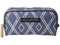 Petunia Pickle Bottom Glazed Powder Room Case Indigo Cosmetic Case Blue