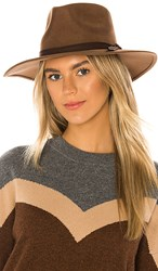 Ale By Alessandra Peyton Hat In Brown.