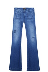 Seafarer Penelope Destroyed Jeans Blue