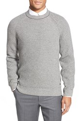 Men's Boss 'T Erasmo' Cashmere Blend Jacquard Crewneck Sweater