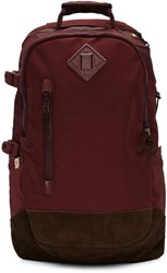 Visvim Burgundy Ballistic 20L Backpack