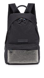 Mcq By Alexander Mcqueen Studded Classic Backpack Black