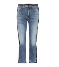 Veronica Beard Ines Cropped Jeans Blue