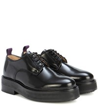 Eytys Kingston Leather Derby Shoes Black
