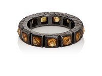 Nak Armstrong Women's Mandarin Garnet And Sterling Silver Band No Color