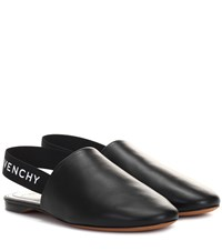 0e53938f86c Givenchy Leather Slingback Slippers Black