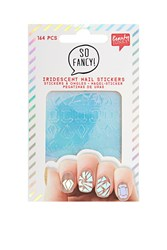 Topshop Iridescent Glass Nail Stickers Turquoise