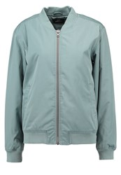 Dr. Denim Dr.Denim Mason Bomber Jacket Misty Green Mint