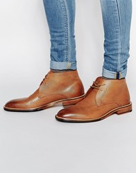 Ted Baker Torsdi Leather Short Boots Brown