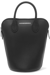 Calvin Klein 205W39nyc Dalton Mini Leather Bucket Bag Black
