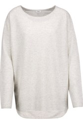 Vince Wool And Cashmere Blend Sweater Light Gray