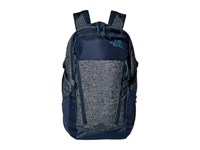 The North Face Surge Transit Urban Navy Heather Banff Blue Backpack Bags Gray