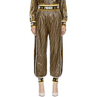 Multicolor All Over 'Fendi Mania' Lounge Pant