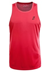 Your Turn Active Basic Vest Brick Red