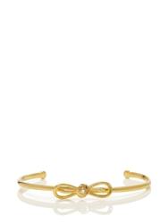 Kate Spade Dainty Sparklers Bow Cuff Clear